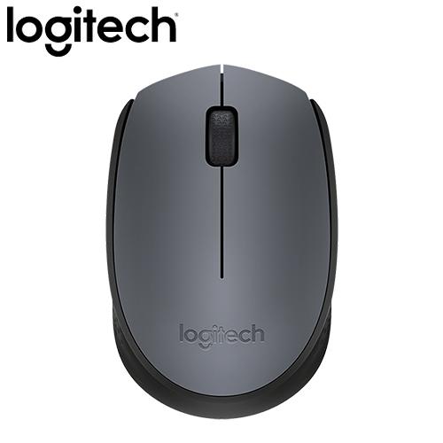 全新 Logitech 羅技 M171 2.4G 無線滑鼠 灰