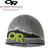 【Outdoor Research 美國 ADYOCATE BEANIE壓克力混紡透氣保暖帽《灰/綠》】254028/毛帽/出國旅遊