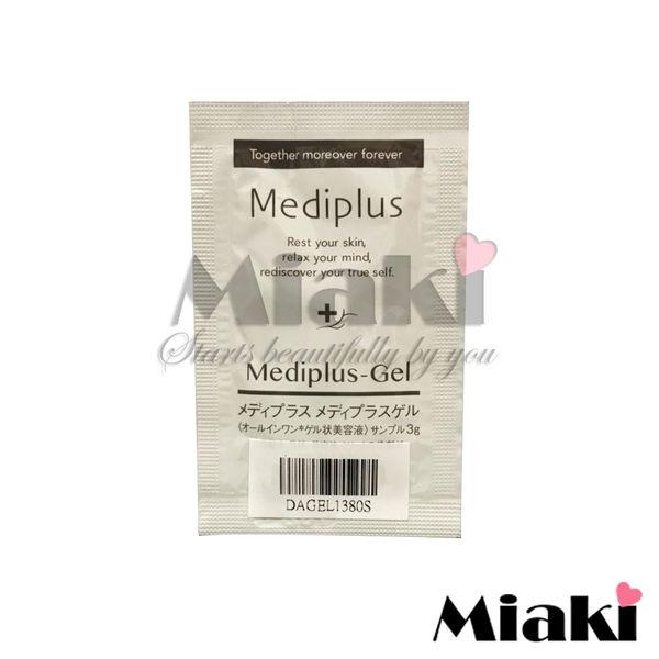 日本 Mediplus美樂思 全效升級保溼彈力精華凝露 3g(試用包) *Miaki*