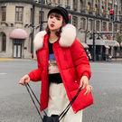 寬松羽絨冬天加絨冬天加厚上衣 女款夾克百搭棉服女士外衣 女生棉襖冬裝冬季女款保暖女孩外套