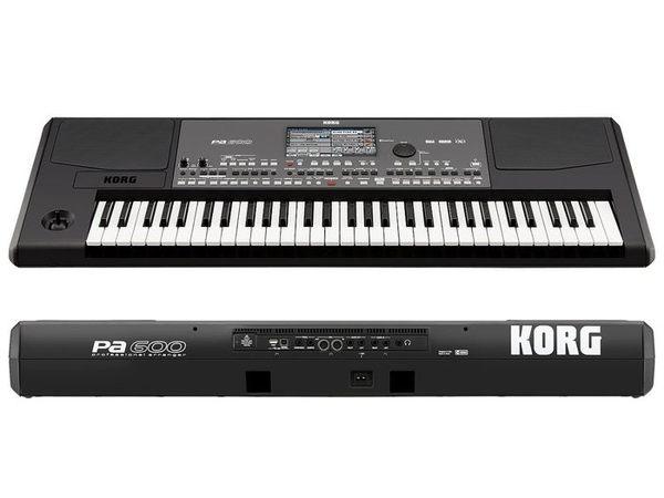 【金聲樂器廣場】 Korg PA600 / PA-600 61鍵 電子琴 觸控螢幕 原廠保固 附價值1000元琴袋