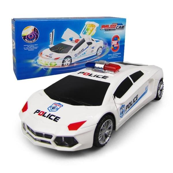 玩具電動兒童汽車玩具男孩女燈光音樂會跳舞旋轉【聚可愛】