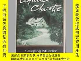 二手書博民逛書店英文原版罕見Sleeping Murder by Agatha