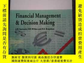 二手書博民逛書店Financial罕見management & decision