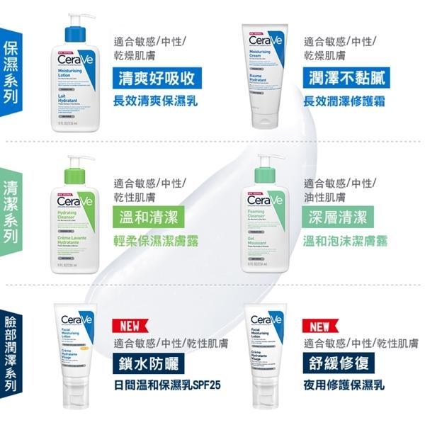 CeraVe適樂膚 長效潤澤修護霜340g 潤澤特惠組 長效潤澤