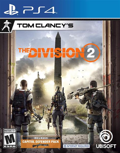 PS4 湯姆克蘭西:全境封鎖 2(美版代購)