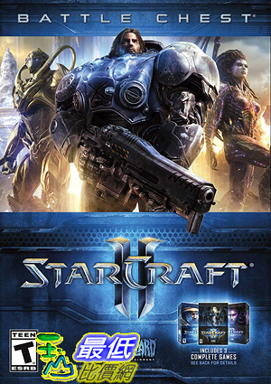 [7美國直購] 2018 amazon 亞馬遜暢銷軟體 Starcraft II Battle Chest - PC Standard Edition