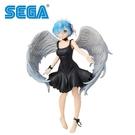 【日本正版】雷姆 墮落天使Ver. 公仔 模型 21cm 墮天使 鬼天使 從零開始的異世界生活 SEGA - 948091