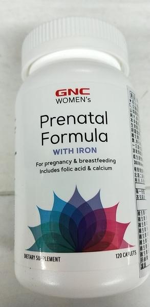 GNC 婦寶樂食品錠 120錠/瓶*6瓶