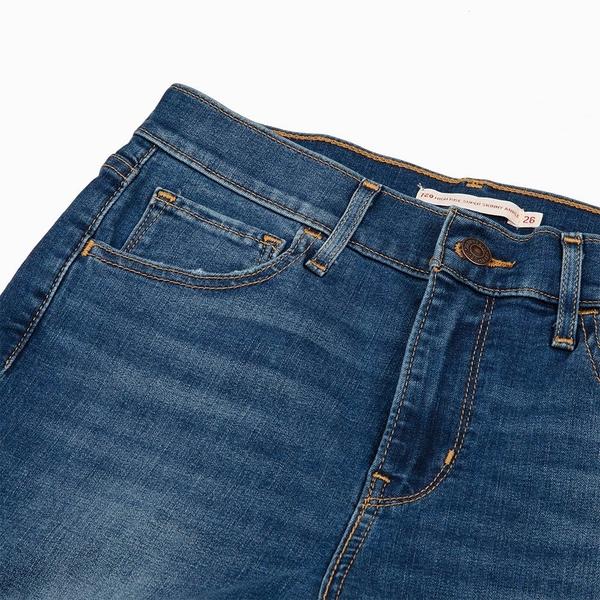Levis 女款 720 高腰超緊身窄管 / 超彈力牛仔褲 / Cool Jeans 涼爽舒適 / 及踝款