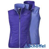 德國 SCHOFFEL 女 防風保暖 雙面背心 紫 2011158