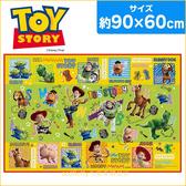 asdfkitty可愛家☆玩具總動員野餐墊/沙灘墊-S號-60*90公分-防水材質-日本正版商品