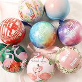 6個裝 歐式結婚喜糖盒圓球形馬口鐵包裝婚禮聖誕新年糖果盒【步行者戶外生活館】