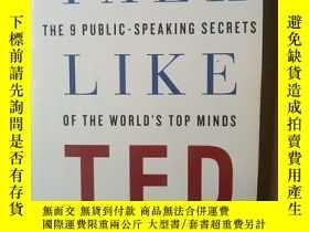 二手書博民逛書店Talk罕見Like TEDY12530 Carmine Gallo . Pan Macmillan UK .