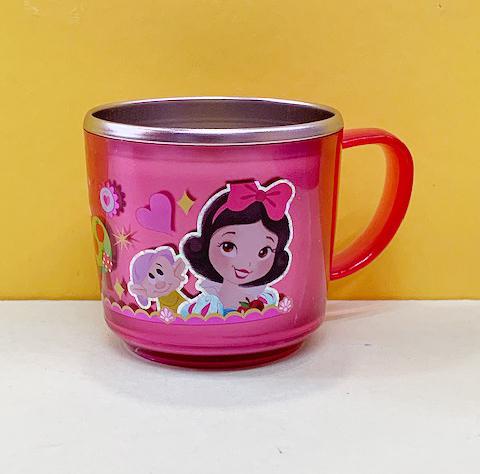 【震撼精品百貨】白雪公主七矮人_Snow White~迪士尼不銹鋼杯-Q版白雪公主#05751
