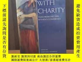 二手書博民逛書店Clothed罕見With Charity: Talks fro
