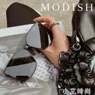 gm墨鏡2021新款潮高級jennie同款太陽眼鏡女網紅街拍方形大臉顯瘦 小艾新品
