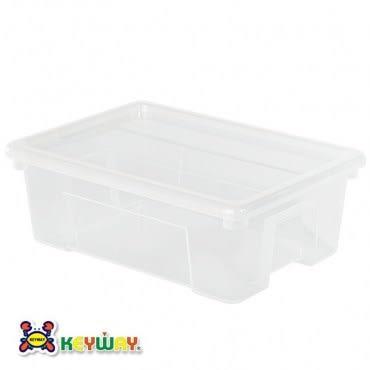 KEYWAY 4號易利掀蓋整理箱 9.5L KZ-004 27.3x38.4x13.