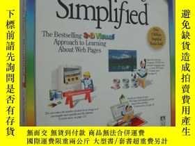 二手書博民逛書店Creating罕見Web Pages Simplified 彩