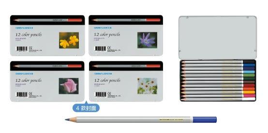 【雄獅】12色塗頭色鉛筆