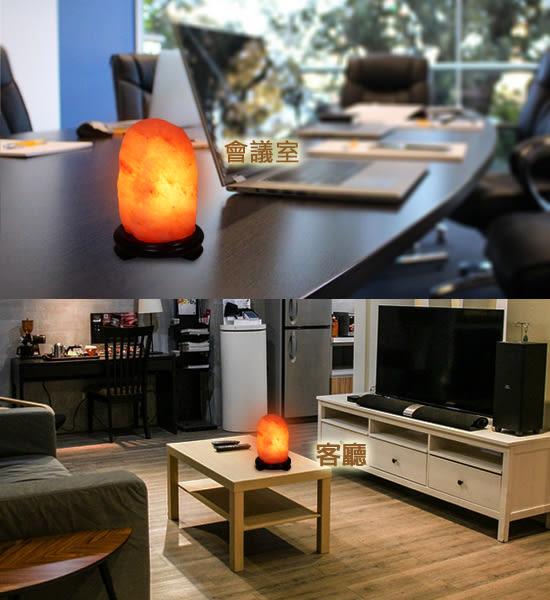 【鹽夢工場】鹽燈兩入組(玫瑰2-4kg|USB小聚寶盆)