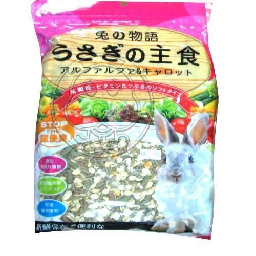 【zoo寵物商城】《Mourchain》兔的物語精選飼料配方1kg