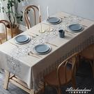 桌布防水防油防燙免洗餐桌布正長方形台布茶幾布桌墊家用PVC北歐 黛尼時尚精品