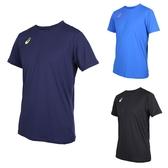 ASICS 男排球短袖T恤 (免運 短T 短袖上衣 排球 訓練 亞瑟士≡體院≡