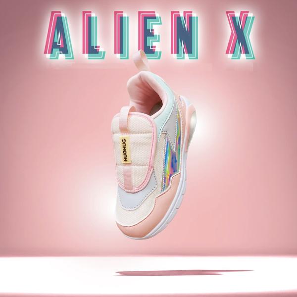 HUGHUG ALIEN X/童鞋/運動鞋-粉