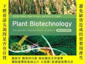 全新書博民逛書店PlantBiotechnology: The Genetic Manipulation Of Plants-植物