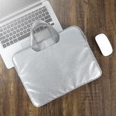 筆電包蘋果筆記本電腦包女手提12寸 15.6寸內膽包13.3寸pro好看的電腦包【免運】