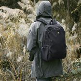 旅行包雙肩包男簡約輕便旅行背包潮牌韓版學生書包男休閒時尚潮流電腦包 印象部落