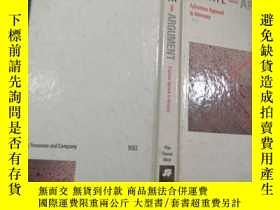 二手書博民逛書店DEBATE罕見AND ARGUMENT A Systems A