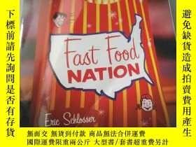 二手書博民逛書店fast罕見food nation ..Y218789