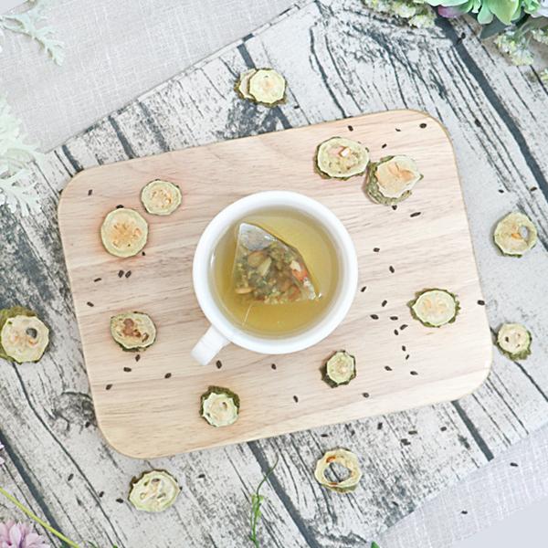 夏綠蒂的翡翠王國- 山苦瓜決明茶 10入 (三角茶包)【菓青市集】