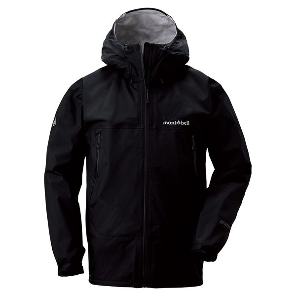 [好也戶外]mont-bell Rain Dancer Jacket男款連帽風雨衣/黑 No.1128340-BK
