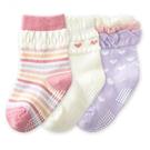 [韓風童品](3雙/組)新款女童棉質襪子...