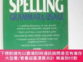 二手書博民逛書店CONCISE罕見EDITION SPELLINGY12014 grammar&usage GEDDE
