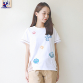 【秋冬降價款】American Bluedeer - 剪接刺繡上衣(魅力價) 秋冬新款