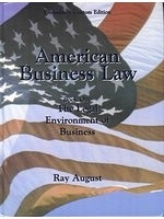 二手書American Business Law (Book One: The Legal Environment of Business) (Preliminary Custom Edition) R2Y 0536680035
