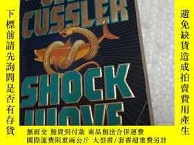 二手書博民逛書店Shock罕見Wave【衝擊波,克萊夫·卡斯勒,英文原版】Y24