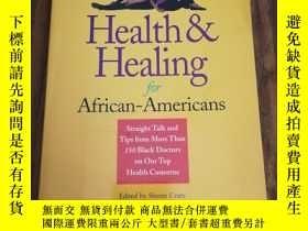 二手書博民逛書店Health罕見& Healing for African-Americans: Straight Talk fr