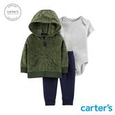 【美國 carter s】森林動物外套3件組套裝-台灣總代理
