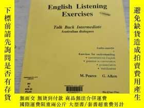 二手書博民逛書店English罕見Listening Exercises:英語聽