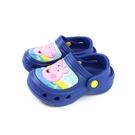 粉紅豬小妹 Peppa Pig 休閒鞋 防水 童鞋 藍色 中童 PG0055 no762