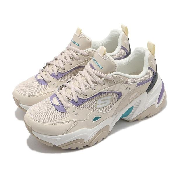 Skechers 休閒鞋 Stamina V2-The Rise Up 淺卡其 紫 女鞋 老爹鞋 運動鞋 【ACS】 149510NTPR