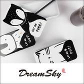 越獄聯盟動物黑白收納盒置物盒鉛筆盒盒子鐵盒DreamSky