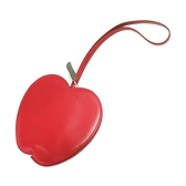 HERMES 愛馬仕 紅蘋果造型小牛皮手拿包 Tutti Frutti Apple X刻【BRAND OFF】