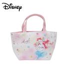 【日本正版】小美人魚 皮革 保冷袋 手提袋 便當袋 艾莉兒 迪士尼 Disney - 926574