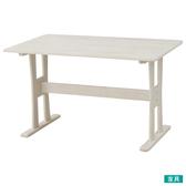 ◎實木餐桌 FANCY120 SPWH 橡膠木 NITORI宜得利家居